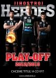 play off 2012-2013 - Kriško, Michálek, Fila - VK Jihostroj České Budějovice