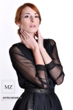 Žaneta pro fashion designerku Moniku Zahradníkovou